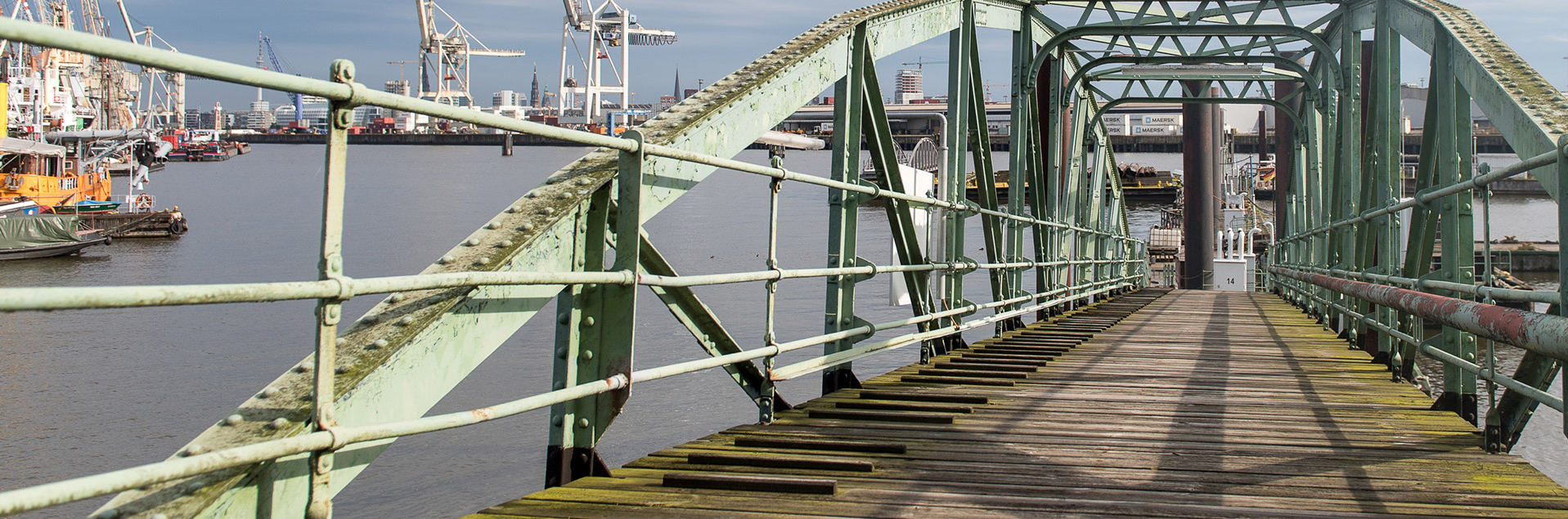 Brücke Hafen Fähre
