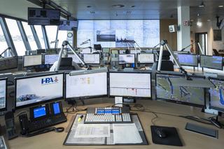 Die moderne nautische Hauptzentrale der HPA.
