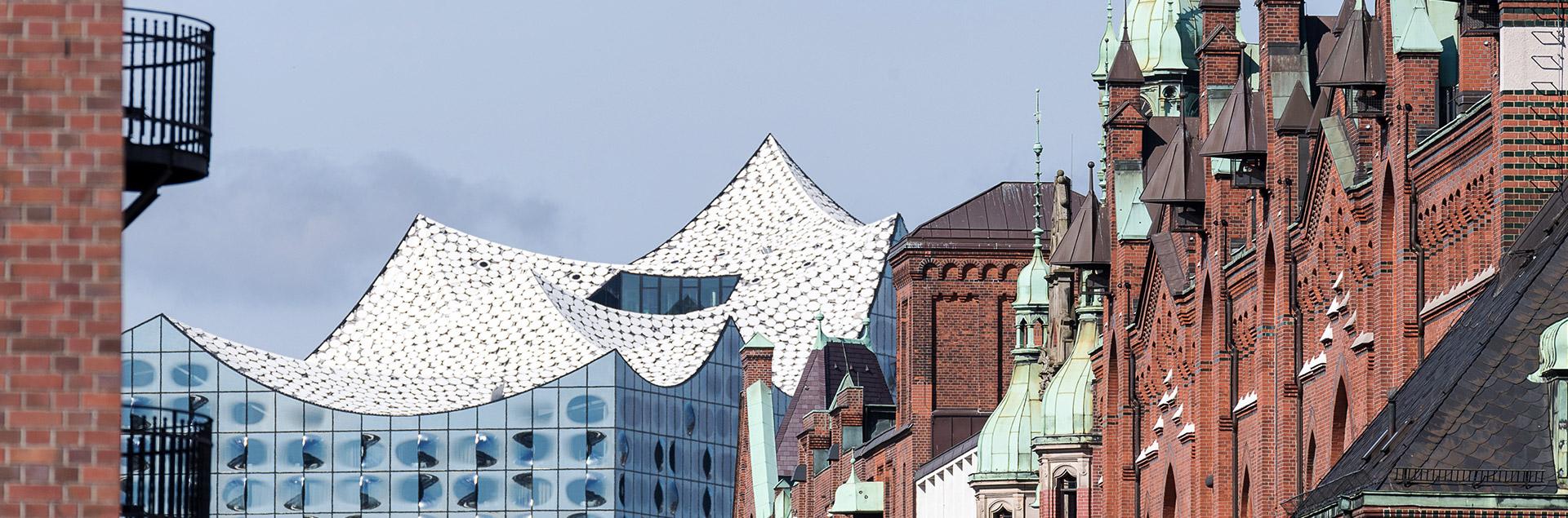 Hamburg Speicherstadt Elbphilharmonie