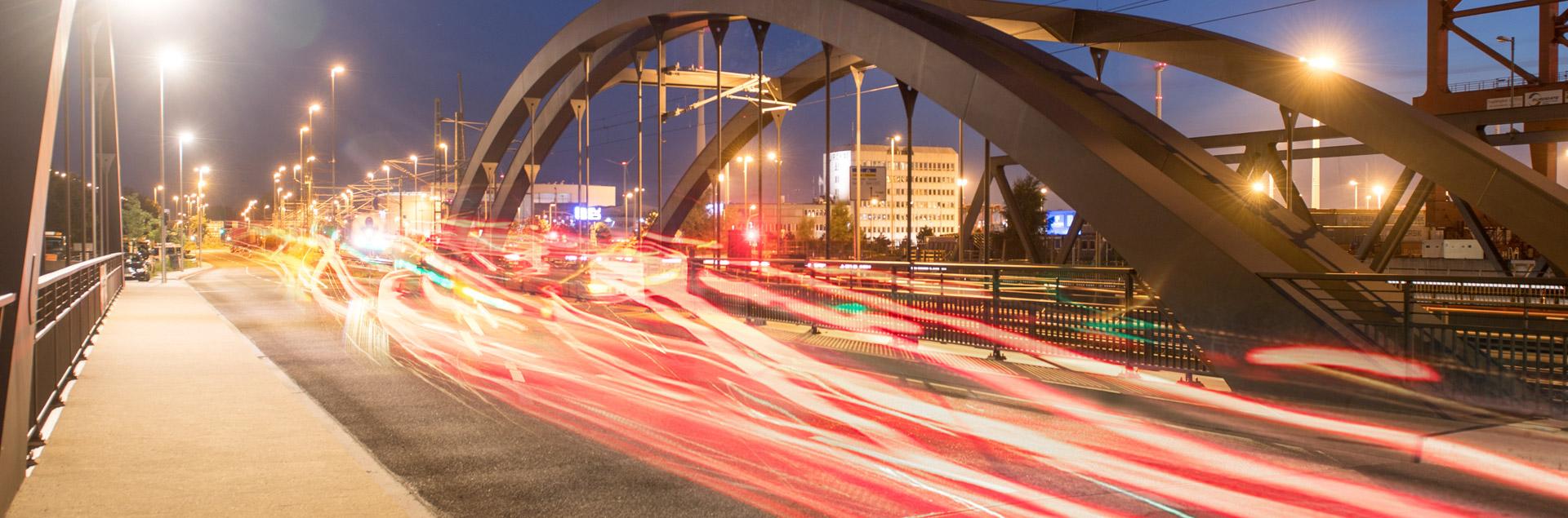 Hamburg Hafen Brücke Digitalisierung
